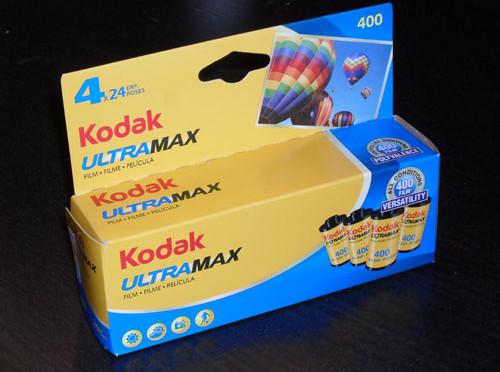 Inexpensive color negative film