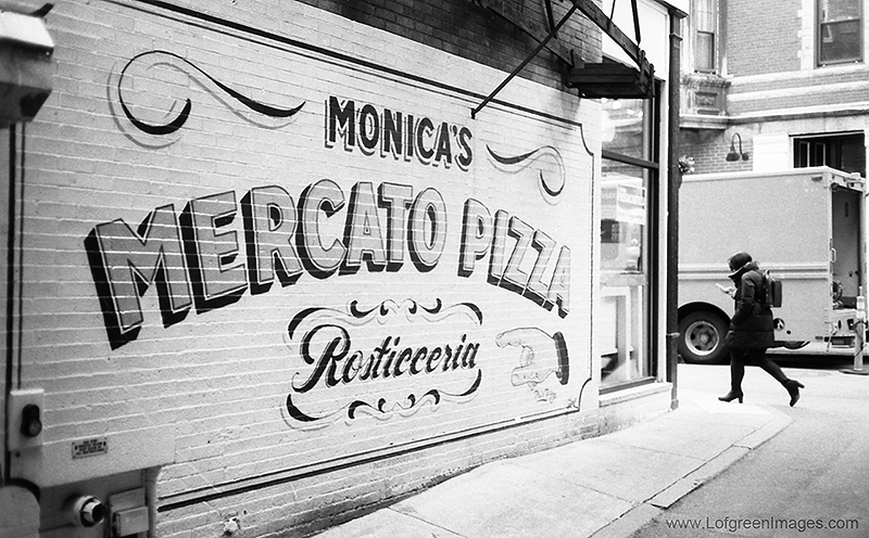Monica's Pizza, one of the best pizza places in the North End of Boston